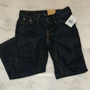 New darkwash slim fit toddler jeans